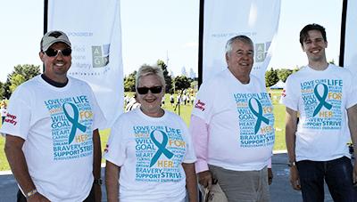 AGM Team at 2014 Ovarian Cancer Canada Walk of Hope
