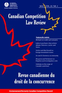 Canadian Competition Law Review