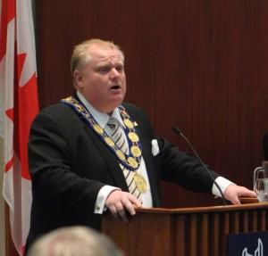 Toronto Mayor Rob Ford (Photo: City of Toronto)