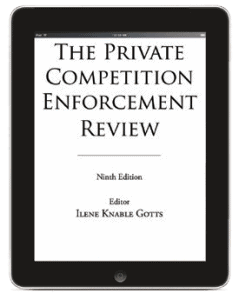 9th Edition Canada Chapter The Private COmpetition Enforcement Review