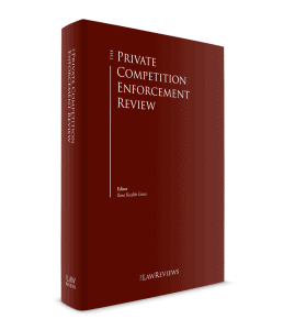 The Private Competition Enforcement Review 11th Edition - Canada Chapter