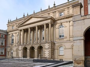 Osgoode Hall, a historic court house dating from 1830s